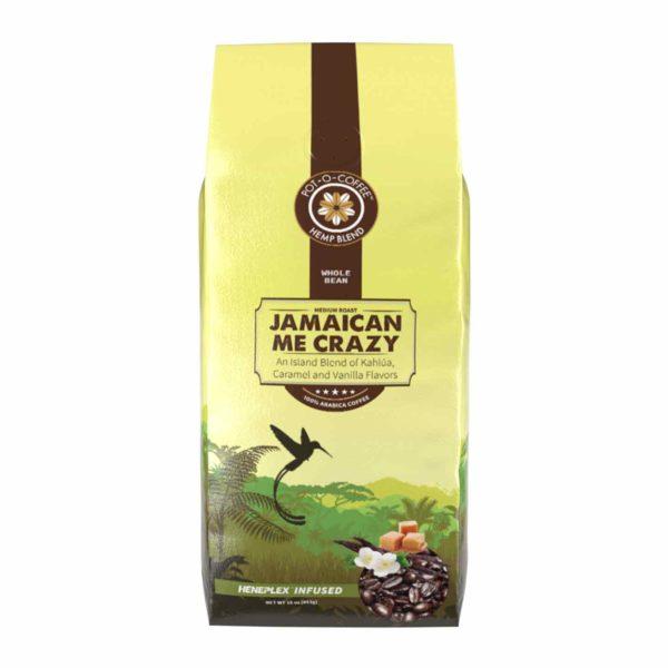 Pot-O-Coffee™ - CBD Coffee Beans - Jamaican Me Crazy