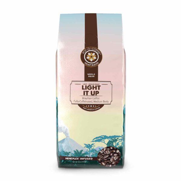 Pot-O-Coffee™ - CBD Coffee Beans - Light It Up