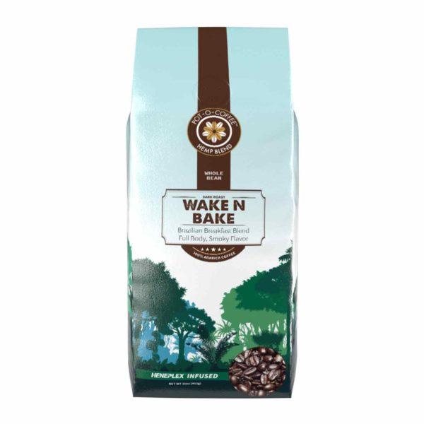 Pot-O-Coffee™ - CBD Coffee Beans - Wake N Bake