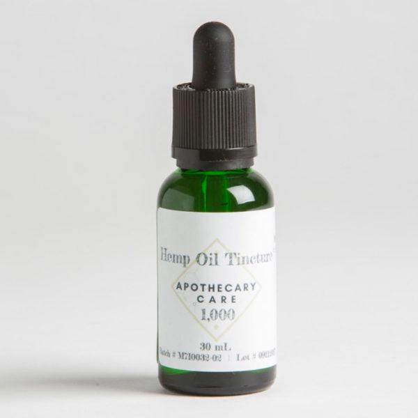 Apothecary Care Hemp Oil Tincture