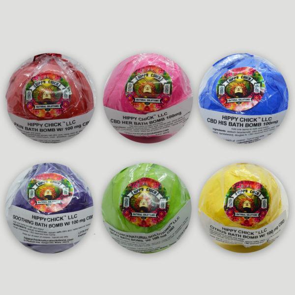 Hippy Chick™ CBD Bath Bombs