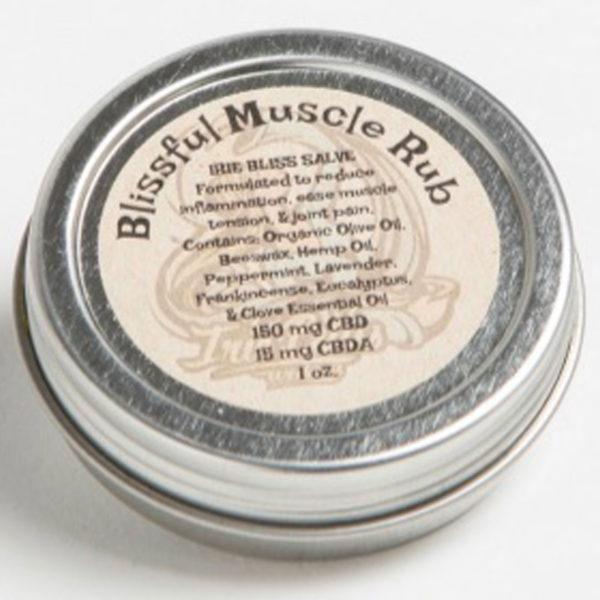 Irie Bliss CBD Salve- Blissful Muscle Rub