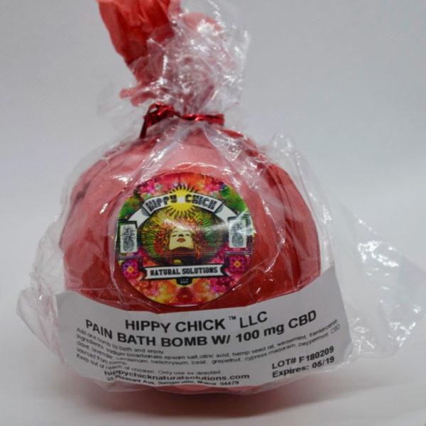 Hippy Chick™ CBD Bath Bomb - Pain and Inflammation