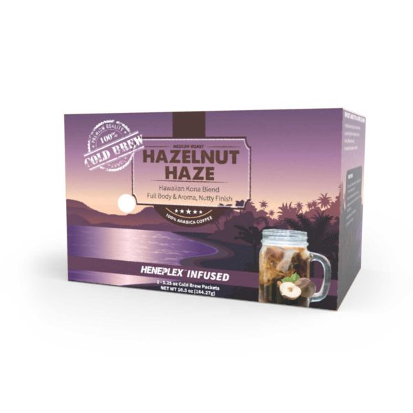 Pot-O-Coffee™ – CBD Infused Cold Brew Packets - Hazelnut Haze