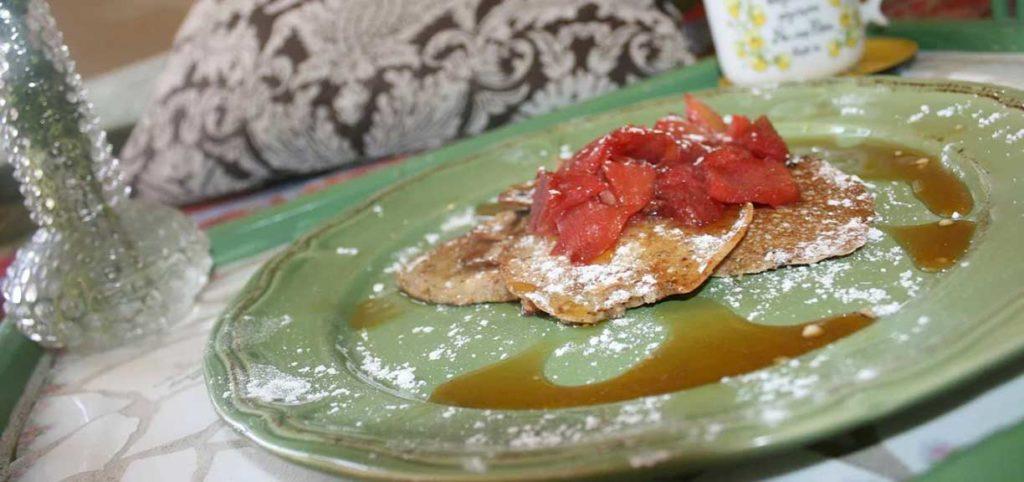 Pretty Hemp Pancakes