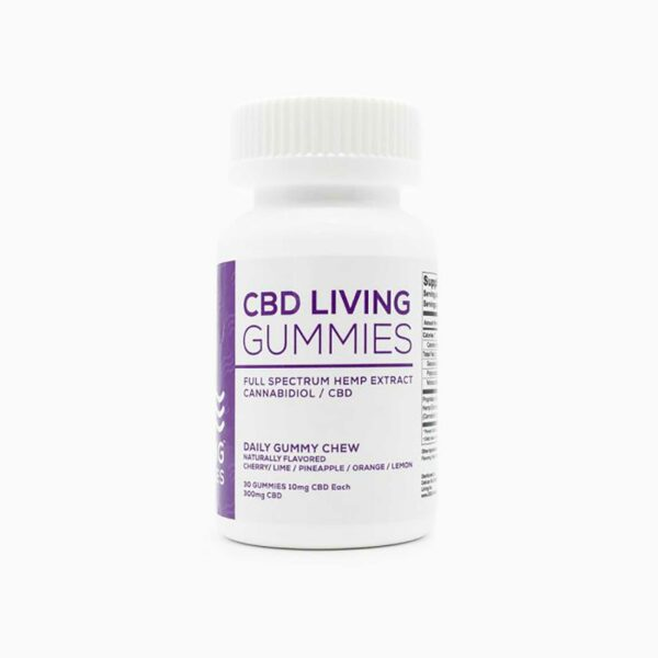 CBD Living Gummies - Regular