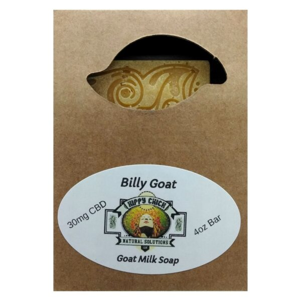 Hippy Chick™ CBD Goat Soap - Billy Goat