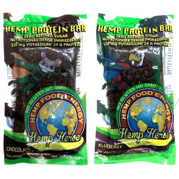 Hemp Hero Protein Bars