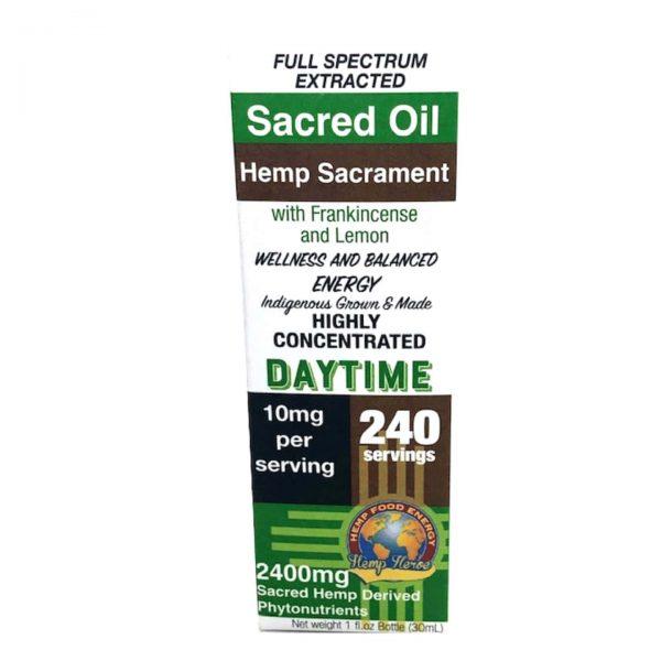 Hemp Heroe Hemp Sacrament Sacred Oil - Daytime