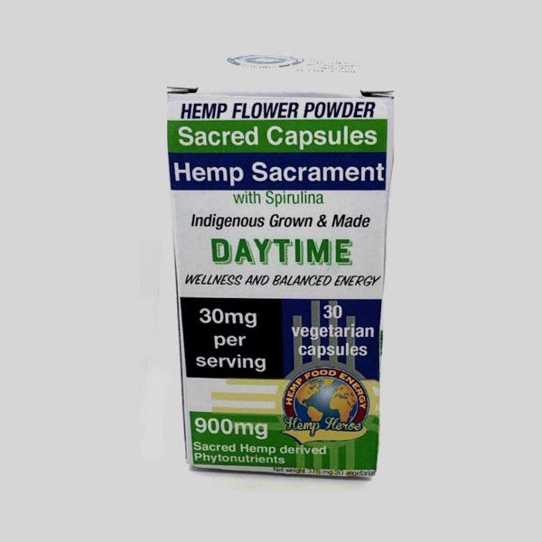 Hemp Heroe Hemp Sacrament 900mg Sacred Capsules - Daytime