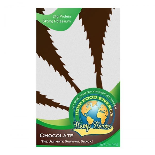 Hemp Heroe Protein Bar - Chocolate