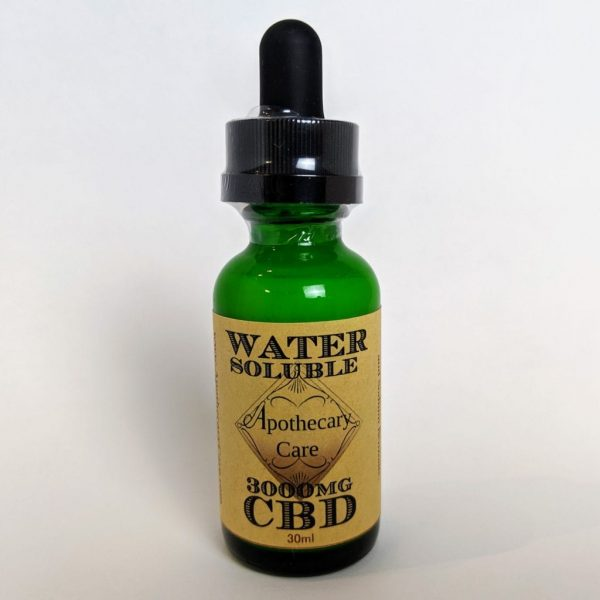 Apothecary Care - Water Soluble - 3000mg