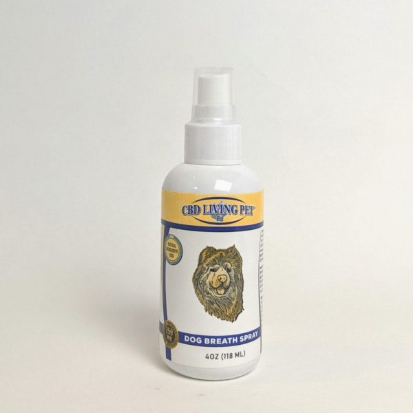 CBD Living Pet - Dog Breath Spray