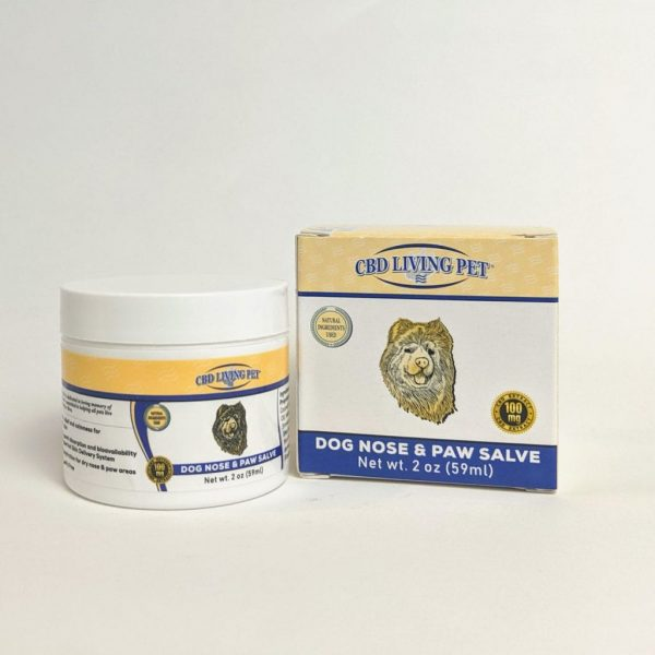 CBD Living Pet - Dog Nose & Paw Salve