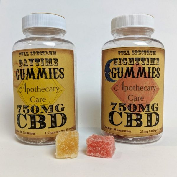 Apothecary Care Gummies - Daytime and Nighttime