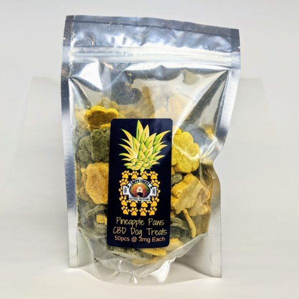 Hippie Chick™ - Pineapple Paws - CBD Dog Treats