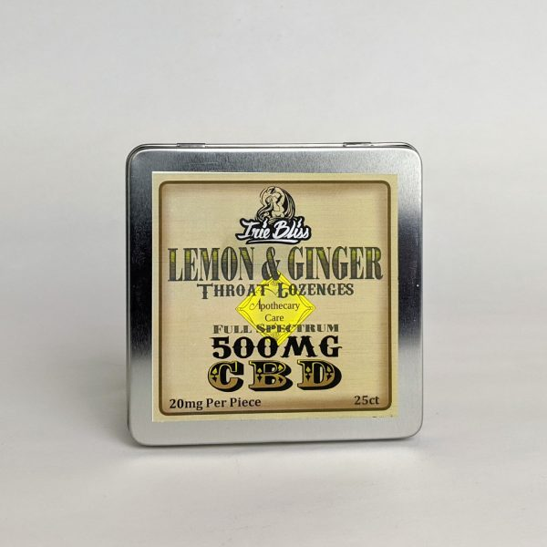 Irie Bliss - Lemon Ginger - Lozenges