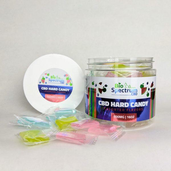 Bio Spectrum - CBD Hard Candy open